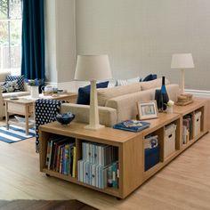 Stauraum Ideen im Wohnzimmer - 30 pfiffige Einrichtungen