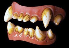 Bad Moon Veneer Werewolf FX Fangs 2.0 by Dental Distortions
