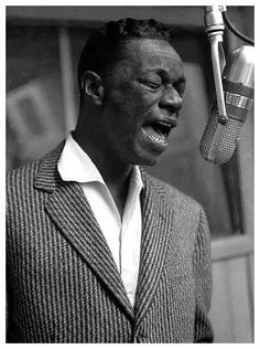 Nat King Cole ~ Pisces ~ I have to pin all of the wonderful Piscean musicians to make up for the Bieber.