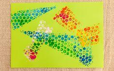 Brinque com os formatos e cores para criar um efeito bem legal. Esse é o resultado!. Foto: Edu Cesar
