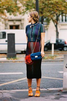 Paris Fashion Week SS 2014....Delfina