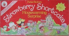 Strawberry Shortcake Board Game Housewarming by Vintagetoygal