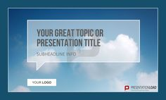 Have you tried out speech bubbles in your PowerPoint presentation? http://www.presentationload.com/powerpoint-title-slides.html