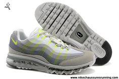 Hommes Nike Air Max 95 DYN FW Chaussures LightGris Volt