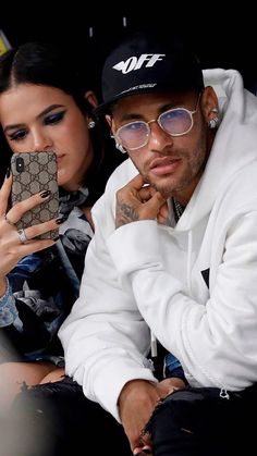 Neymar And His Girlfriend Bruna Marquezine Neymar Attends Paris Fashion Week With Glamorous Girlfriend Bruna Marquezine (Photos) Bra. Fc Barcelona, Bruna Marquezine And Neymar, Neymar Jr Wallpapers, Fashion Week, Mens Fashion, Paris Fashion, Neymar Psg, Neymar Brazil, Dani Alves