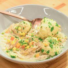 Creamy Chicken and Dumplings By Katie Lee