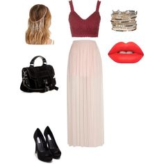 Untitled #16 by liliamperera on Polyvore featuring polyvore, fashion, style, Topshop, River Island, Nly Shoes, Proenza Schouler, maurices, Forever 21 and Lime Crime