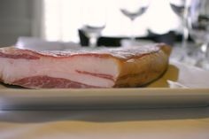 Lamb bacon from Cello's Paul Desiano