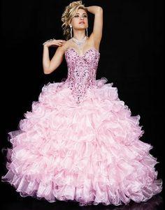 vestidos de 15 anos rosa - Pesquisa Google