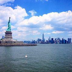 Statue of Liberty στην πόλη New York, NY