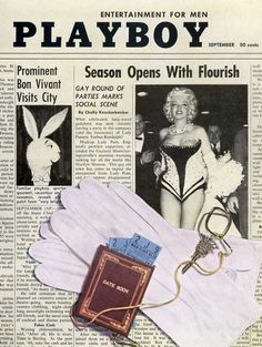 Playboy magazine cover September 1955