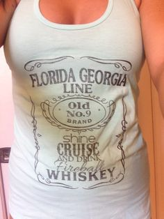 Florida Georgia line tank top