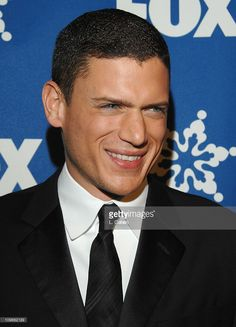 Wentworth Miller during The Fox All-Star Winter 2007 TCA Press Tour Party - Red Carpet and Inside at Villa Sorriso in Pasadena, California, United States.