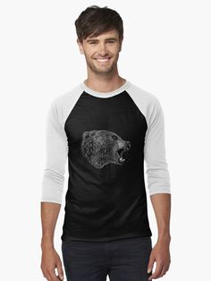 🖤 #hjorleifsonart #vikings #bear #tshirt #bearart #icelandic #artist #digitalart #wildlife