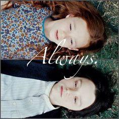 Young Snape and Lilly... Always