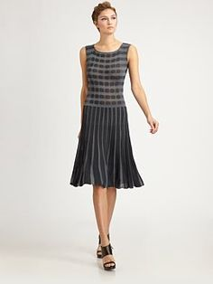 Armani Collezione-pleated knit dress.  This is such a classic style that will alway come back...I just love it. $975
