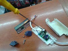 Dicas do Gilson Eletricista: Minha luminária Led ao ligar não acende e fica pis...