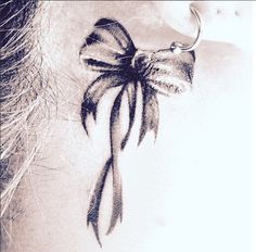 bow tattoo #ink #youqueen #girly #tattoos