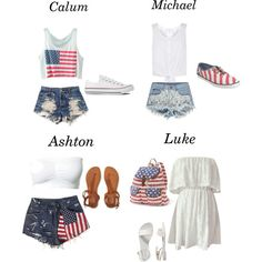A fashion look from March 2015 featuring white dress, crochet crop top and white top. Browse and shop related looks. 5sos Outfits, Band Outfits, Cute Outfits, 1d And 5sos, 5sos Ashton, 5sos Preferences, 5sos Imagines, Cropped Tank Top, 5 Seconds Of Summer