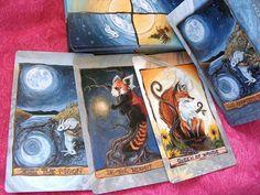 Animism Tarot Deck 79 Card Animal Tarot Includes by rainbowofcrazy