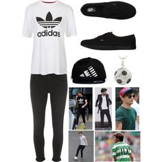 Louis Tomlinson Inspired ❤︎ by summertimesea on Polyvore featuring polyvore, fashion, style, Topshop, Dorothy Perkins, Vans, DB Designs and LPD NEW YORK