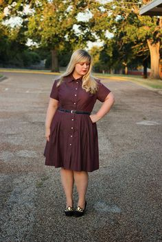 Miss Clara and the Autumn of 1000 Shirtdresses: A Sewing Challenge