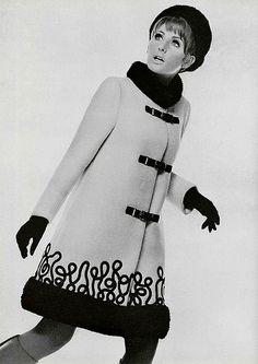 1960s coat envy by Bess Georgette, via Flickr