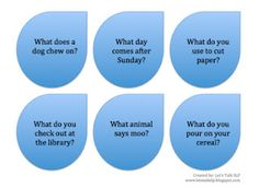 """""""Wh"""" Questions Rainclouds! -  Pinned by @PediaStaff – Please Visit http://ht.ly/63sNt for all our pediatric therapy pins"""