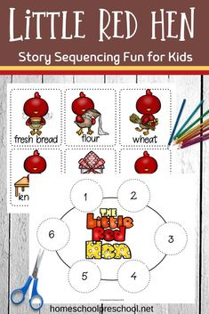How To Circumvent IP Possession Concerns Every Time A Strategic Alliance, Three Way Partnership Or Collaboration Fails Kids Can Practice Storytelling With These Free Printable Little Red Hen Sequencing Cards. They Can Be Used In Three Hands-On Activities. Sequencing Cards, Story Sequencing, Sequencing Activities, Hands On Activities, Kindergarten Activities, Articulation Games, The Little Red Hen Preschool, Little Red Hen Story, Little Red Hen Activities
