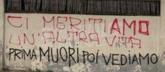 Star Walls - Scritte sui muri. — Meritocrazia