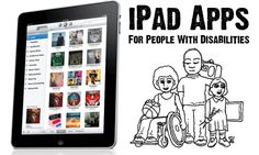 For the people I know that have children with disabilities...Panosian's Blog: 40 iPad Apps For People With Disabilities In Learning:)