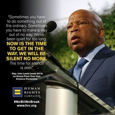 BREAKING: Civil rights icon Rep. John Lewis is currently leading a sit-in on the House floor. Dozens of House Democrats are joining him, fighting for comprehensive gun violence prevention legislation.