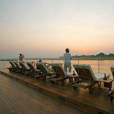 Flusskreuzfahrten zwischen Mandalay und Bagan
