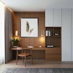 Home Room Design, Room Design, Apartment Interior, Bedroom Interior, Home Decor, House Interior, Study Room Design, Office Interior Design, Home Interior Design