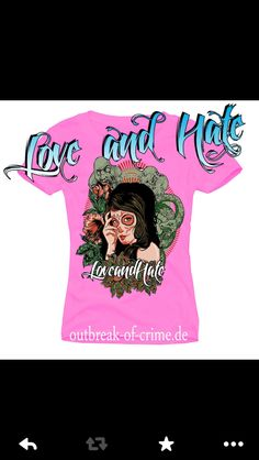 Tank Top Love and Hate www.outbreak-of-crime.de