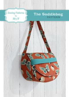 The Saddlebag Sewing Pattern by Mrs H by SewingPatternsbyMrsH