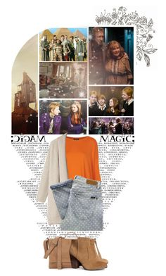 """The Weasley Family"" by catching-fire ❤ liked on Polyvore featuring Cullen, George, Topshop, Toast, Paul by Paul Smith, H&M, harrypotter, family, ginger and weasley"