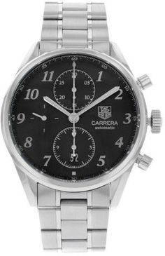 Tag Heuer Carrera Heritage CAS2110.BA0730 Stainless Steel Automatic Men's Watch (Display Model)
