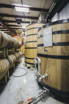 Golden Brett Foudre in Allagash's Wild Barrel Room