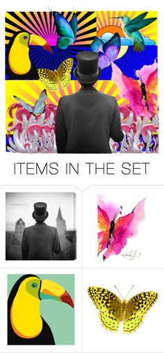 """""""Far Out"""" by lvoth ❤ liked on Polyvore featuring art"""