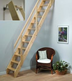 Wooden Loft Stairs - http://home6.xyz/wooden-loft-stairs-9201/