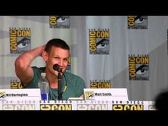 Matt Smith at Comic-Con 2013 on Why He Decided to Stop Being the Doctor ...He's so adorable :)