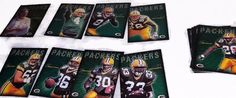 2001 NFL Green Bay Packers Police  20 Trading Card Set - Favre Freeman Green #GreenBayPackers