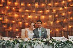 Head Table Backdrop - Apartment Photography + Bespoke Decor Rentals (Vancouver, BC)