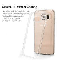 Capa para Celular Samsung Galaxy S6 Gel Top Premium