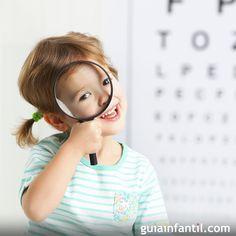 Síntomas de miopía en los niños.