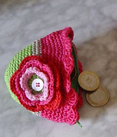 monedero crochet