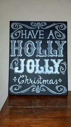 Dear Lillie Chalkboards are a wonderful way of conveying a holiday message - and they are so popular right now.