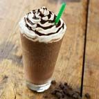 Starbucks Double Chocolatey Chip Frappuccino... my very favorite