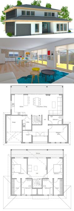 Small House Plan CH176